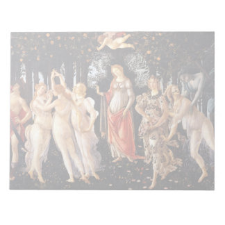 BOTTICELLI -Primavera 1482 Notepad