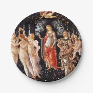 BOTTICELLI -Primavera 1482 Paper Plate