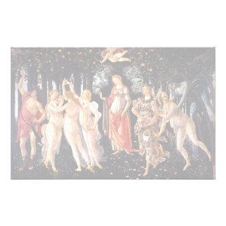 BOTTICELLI -Primavera 1482 Stationery