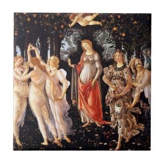 BOTTICELLI -Primavera 1482 Tile