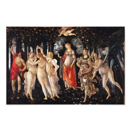 Botticelli Primavera Photo Art