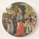 Botticelli Renaissance Painting Coaster