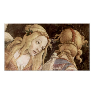 Botticelli-Sistine Chapel -The youth of Moses Poster
