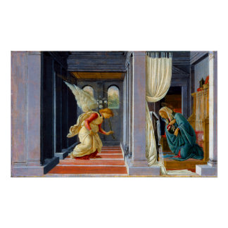 Botticelli The Annunciation Poster