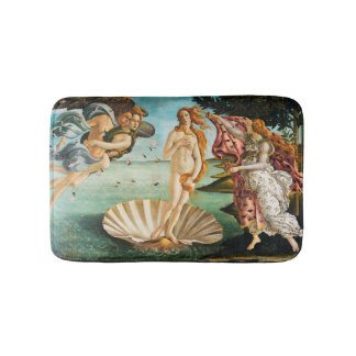 BOTTICELLI - The birth of Venus 1483 Bath Mat