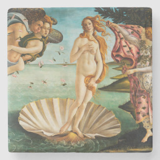 BOTTICELLI - The birth of Venus 1483 Stone Coaster