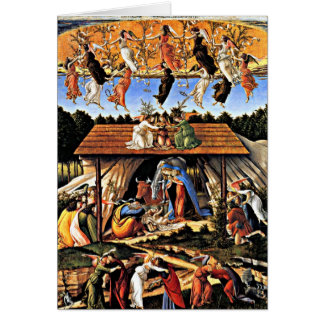 Botticelli - The Mystical Nativity Card