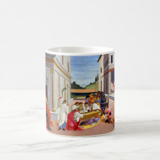 Botticelli Three Miracles of Saint Zenobius Coffee Mug