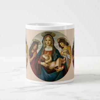 Botticelli's Madonna And Child Large Coffee Mug