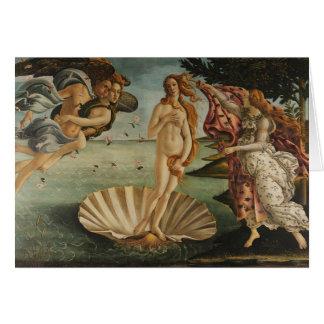 Botticelli's The Birth of Venus Card