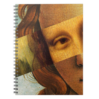 Botticelli's Venus and Mona Lisa Notebook
