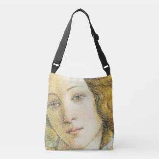 Botticelli's Venus digital art print Crossbody Bag