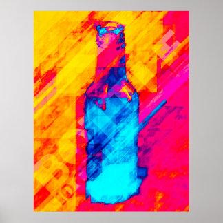 Bottle 10 Cents Poster