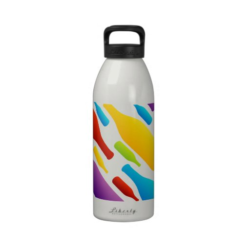 Bottle background water bottles