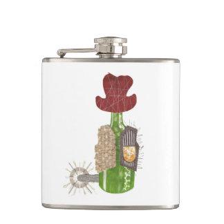 Bottle Cowboy Flask