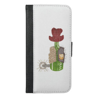 Bottle Cowboy I-Phone 6/6s Plus Wallet Case
