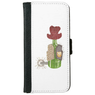 Bottle Cowboy I-Phone 6/6S Wallet Case