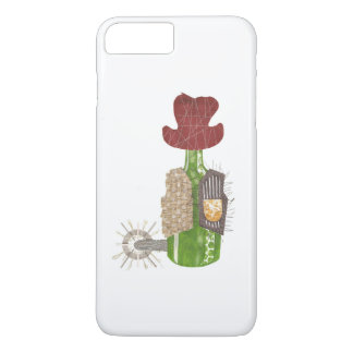 Bottle Cowboy I-Phone 7 Plus Case