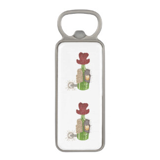 Bottle Cowboy Magnetic Bottle Opener