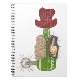 Bottle Cowboy Notebook