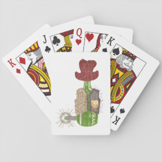Bottle Cowboy Playing Cards