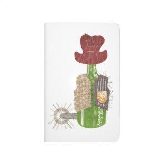 Bottle Cowboy Pocket Journal