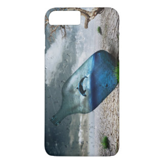 Bottle Dolphin in Dessert iPhone 8 Plus/7 Plus Case
