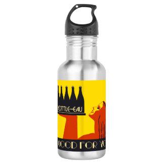 Bottle-eau retro style art deco
