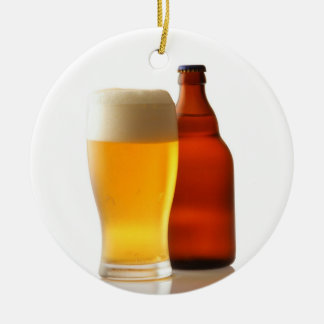 Bottle of Beer Christmas Ornament