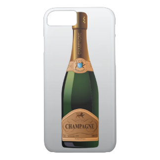 BOTTLE OF CHAMPAGNE iPhone 7 CASE