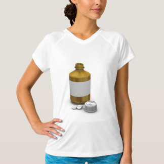 Bottle Of Tablets Womens Active Tee