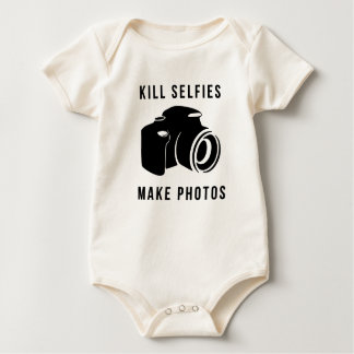 Bottle selfies baby bodysuit