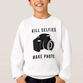 Bottle selfies sweatshirt