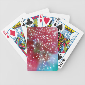 Bottlebrush Flower Abstract Bicycle Playing Cards