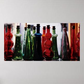 Bottled Spectrum Poster