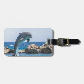 Bottlenose Dolphin Luggage Tag