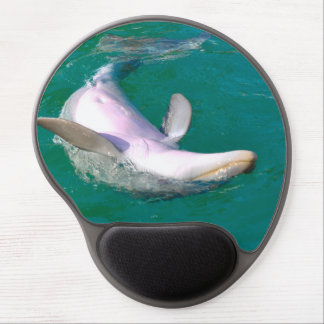 Bottlenose Dolphin Upside Down Gel Mouse Pad