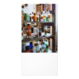 Bottles of Chemicals Photo Cards