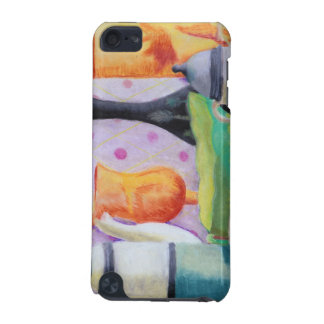 Bottlescape II - Abstract Alice Tea Party iPod Touch 5G Case