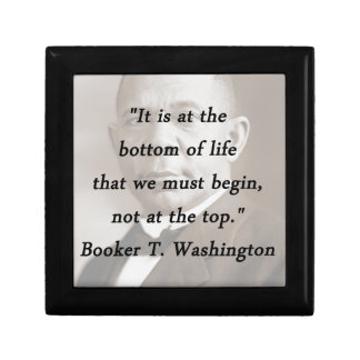 Bottom Of Life - Booker T Washington Gift Box