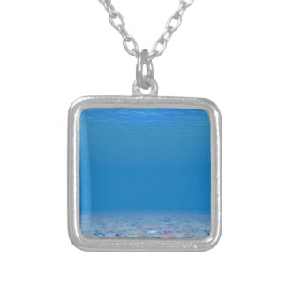 Bottom of The Sea Silver Plated Necklace