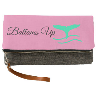 Bottoms Up Mermaid Tail Clutch
