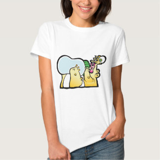 Bottoms up! t-shirts