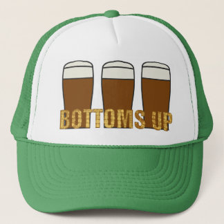 Bottoms Up Trucker Hat