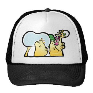 Bottoms up! trucker hat