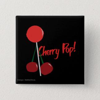 Botton Cherry POP 2 Inch Square Button