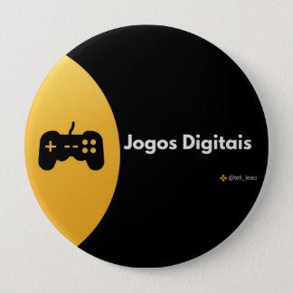 Botton - Digital Games 4 Inch Round Button