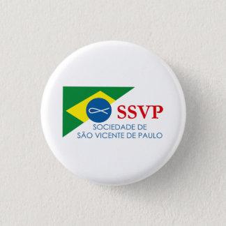 Botton Soon SSVP of Brazil 1 Inch Round Button