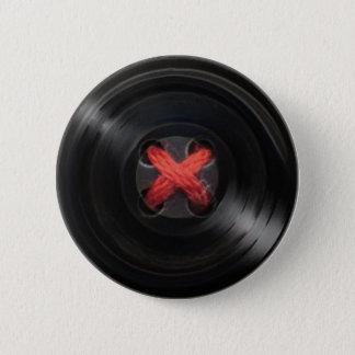 Botton Vinyl 2 Inch Round Button