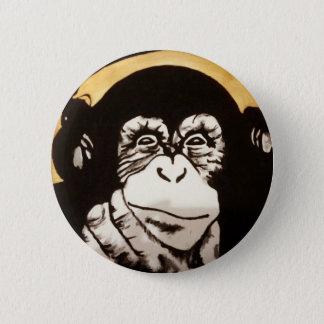 Bottons monkey 2 inch round button